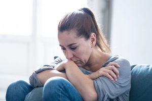 Sadness, Crying Woman